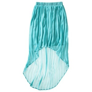 Maxi High Low Skirt